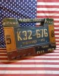 テキサスナンバーキャリーボックス キャリーボックス ナンバー収納ボックス アメリカ雑貨屋 サンブリッヂ