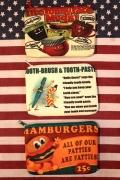 アメリカンキャラクターポーチ アメリカン化粧ポーチ コットンプリントポーチ アメリカ雑貨屋 サンブリッヂ 通販