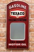 アメリカンパブミラー テキサコ壁掛けミラー TEXCOミラー オールドアメリカン アメリカ雑貨屋 サンブリッヂ 通販
