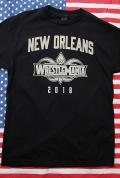 WWETシャツ レッスルマニアTシャツ レッスルマニア2018 ニューオリンズ大会 輸入雑貨 アメリカ雑貨屋 サンブリッヂ 通販