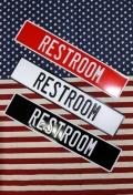 レストルーム看板 トイレ看板 トイレット看板 ストリートサイン  アメリカ雑貨通販 SUNBRIDGE サンブリッヂ