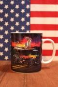 ルート66ダイナーマグカップ アメリカンマグカップ ROUTE66 アメリカ雑貨屋 サンブリッヂ アメリカン雑貨通販