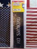セーフティサイン プラスチックステンシル NO SMOKING アメリカ雑貨屋 SUNBRIDGE
