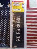 セーフティサイン プラスチックステンシル NO PARKING アメリカ雑貨屋 SUNBRIDGE