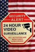 セキュリティサイン セキュリティ看板 光る畜光看板 アメリカ防犯看板 24時間監視看板 アメリカ雑貨屋 サンブリッヂ 通販