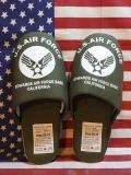エアフォーススリッパ エアフォースルームシューズ USエアフォースインテリア アメリカンスリッパ アメリカ雑貨屋 サンブリッヂ