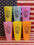 スマイルカップ タンブラー 6個セット パステルカラー アメリカ雑貨屋 サンブリッヂ