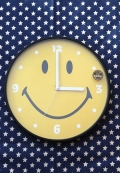 スマイルウォールクロック スマイル時計 アメリカン壁掛け時計 SMILE アメリカ雑貨屋 サンブリッヂ 通販