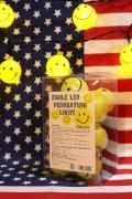 スマイルパーティーライト スマイルデコレーションライト スマイルライト アメリカ雑貨屋 サンブリッヂ アメリカ雑貨通販