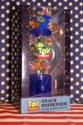 トイストーリースナックディスペンサー トイストーリーガムボールマシーンエイリアン Disney アメリカ雑貨屋 サンブリッヂ 通販
