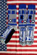 スターウォーズソックス R2-D2靴下 スターウォーズ靴下 アメリカ雑貨屋 サンブリッヂ アメキャラ靴下通販
