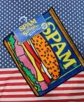 スパムフロアマット アメリカンマット スパム缶 SPAM アメリカ雑貨屋 サンブリッヂ アメリカン雑貨 通販