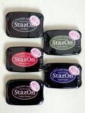 ステイズオン StazOn 不滅インク パッド 油性 INK PAD アメリカ雑貨 SUNBRIDGE サンブリッヂ 雑貨 ドライステンシル