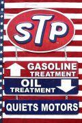 STP看板 STAPオイル 3連看板  ブリキ看板 アメリカ雑貨 通販 サンブリッヂ SUNBRIDGE 岩手雑貨屋
