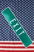 出口看板 EXIT看板 ストリート看板 アメリカ標識看板 ガレージ看板 アメリカ雑貨屋 サンブリッヂ  アメリカ雑貨通販