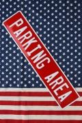 駐車場看板 ストリート看板 アメリカ標識看板 ガレージ看板 アメリカ雑貨屋 サンブリッヂ  アメリカ雑貨通販