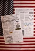 海外タブロイド2冊入り ラッピング用紙 英字新聞 アメリカ雑貨屋 サンブリッヂ