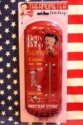 サーモメーター ベティ 温度計 看板 アメリカ雑貨 通販 サンブリッヂ