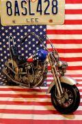 ブリキバイク バイクトイ  オブジェ アメ車 ワイルドで行こう アメリカ雑貨屋 サンブリッヂ 看板通販