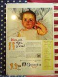 50年代 ブリキ看板 看板 アメリカ雑貨 ガレージ看板 サンブリッヂ BABY 赤ちゃん ベイビー 岩手 雑貨 通販