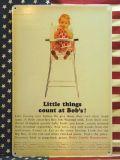 50年代 ブリキ看板 看板 アメリカ雑貨 ガレージ看板 ガール GIRL チェア イス 椅子 BABY 赤ちゃん ベイビー 岩手 雑貨 通販