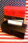 ティシュケースツールボックス ペーパーティッシュケース キッチンペーパーケース アメリカ雑貨屋 サンブリッヂ  通販商品