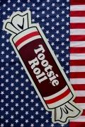 トッツィーロール看板 アメリカお菓子看板 アメキャラ看板 アメリカンブリキ看板通販 アメリカ雑貨屋サンブリッヂ SUNBRIDGE 岩手雑貨