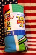 トイストーリーブランケット トイストーリー4ブランケット トイストーリー雑貨通販 サンブリッヂ フォーキー雑貨通販