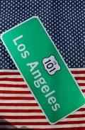 トラフィックサインボード アメリカ道路標識看板 ロサンゼルス101 ガレージ看板 アメリカ雑貨屋 サンブリッヂ アメリカン雑貨通販