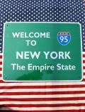 トラフィックサインボード ニューヨーク道路標識看板 NY95 ガレージ看板 アメリカ雑貨屋 サンブリッヂ アメリカン雑貨通販