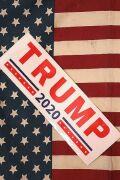 トランプ大統領 グッズ ドナルドトランプバンパーステッカー アメリカ雑貨屋   サンブリッヂ アメリカン雑貨通販