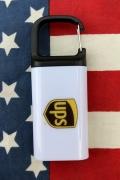 UPSライトキーホルダー UPSクリップライト UPSグッズ通販 アメリカ雑貨屋 サンブリッヂ アメリカ雑貨通販