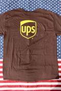 UPSTシャツ UPSコットンTシャツ  アメリカ輸送会社グッズ アメリカ雑貨通販 アメリカ雑貨屋 サンブリッヂ