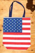 アメリカ国旗バッグ アメリカンコットンバッグ 星条旗バッグ アメリカンエコバッグ アメリカ雑貨屋 SUNBRIDGE エコバッグ通販