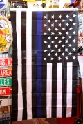 シンブルーラインタペストリー ブルーライン星条旗 ブラッグアメリカ国旗 アメリカン雑貨通販  サンブリッヂ