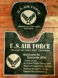 エアフォーストイレマット エアフォーストイレカバーセット AIRFORCEトイレカバー USAFマット アメリカ雑貨屋 サンブリッヂ