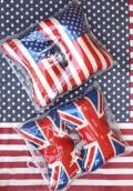 アメリカ柄ネッククッション イギリスネッククッション カーアクセ アメリカ雑貨屋 サンブリッヂ