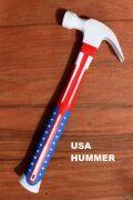 USA八ンマー 星条旗ハンマー アメリカ工具 アメリカンかなづち アメリカ雑貨屋 サンブリッヂ 星条旗通販