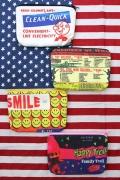 コットンプリントポーチ ポーチ ペンケース レトロアメリカン アメリカ雑貨 サンブリッヂ 通販