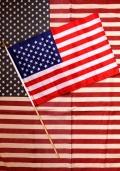 スティックフラッグ 棒付き星条旗 アメリカ直輸入 アメリカ雑貨屋 サンブリッヂ