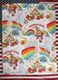 レインボーブライトUSEDシーツ アメキャラベッドシーツ  Rainbowbrite アメリカ雑貨屋 サンブリッヂ 通販
