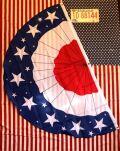 半月アメリカ国旗 星条旗 アメリカンフラッグ アメリカ雑貨 通販 アメリカ雑貨屋 サンブリッヂ