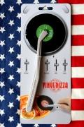 レコードピザカッター ピザ雑貨  面白ピザカッター  ピザカッター アメリカ雑貨屋 SUNBRIDGE アメリカン雑貨 通販