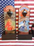 壁付け ウォールハンギングオープナー 王冠 ケース アメリカン 看板 小物入れ アメリカ雑貨屋 サンブリッヂ