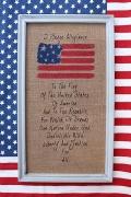 ウォールデコUSA 木製刺繍プレート アメリカン木製看板 カントリー看板 アメリカ雑貨屋 サンブリッヂ アメリカン雑貨通販