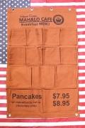 ウォールポケット マハロカフェ ハワイアン アメリカ雑貨屋 サンブリッヂ