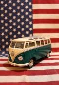 ワーゲンクラシカルバスミニカー プルバックカー フォルクスワーゲン アメリカ雑貨屋 サンブリッヂ