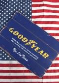 グッドイヤー 木製看板 ビンテージウッドサイン GOODYEAR アメリカ雑貨屋 サンブリッヂ 通販