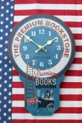 オールドルッククロック 壁掛け時計 フェイクスイング ヴィンテージ風 アメリカ雑貨通販 サンブリッヂ