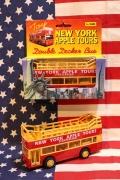 ニューヨークアップルツアーズプルバックカー アップルツアーズ ミニカー アメリカ雑貨屋 サンブリッヂ